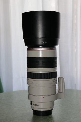 Vendo objetivo canon serie L 100-400 is 4.5 5.6