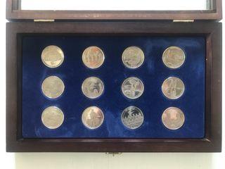 Colección de monedas Centenario del Real Madrid