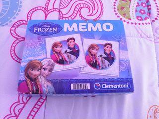 Juego memo Frozen