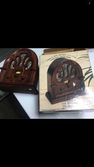Radios madera NUEVOS OFERTA