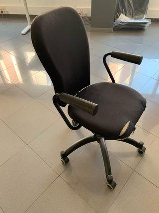 Sillas de oficina. Modelo FLINTAN. IKEA.