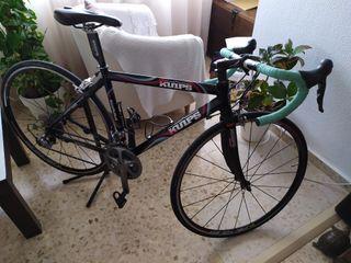 bicleta kuips aluminio/carbono