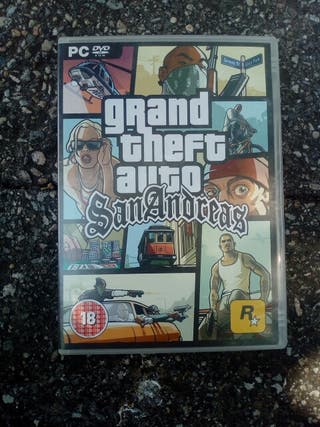 Videojuego PC Grand Theft Auto San Andreas