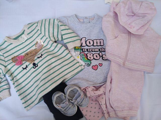 Lote 30 ropa bebé