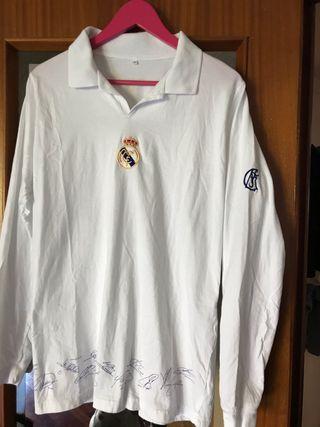 POLO LARGO REAL MADRID ( algodón talla L )