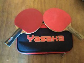 palas de ping pong.