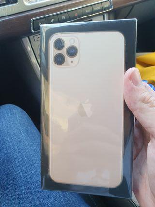 IPHONE 11 pro max precintado oro 64 gb apple