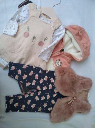 Lote 38 ropa bebé