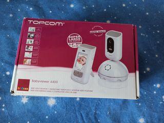cámara vigilabebes Topcom
