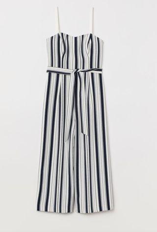 Mono de rayas blanco y negro del H&M