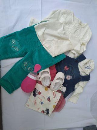 Lote 42 ropa bebé