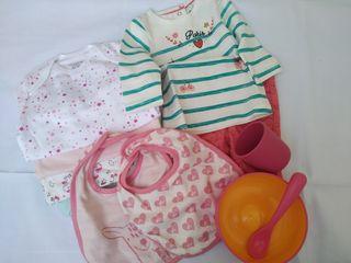 Lote 35 ropa bebé
