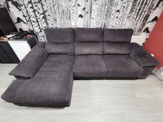 Sofá chaiselongue 3 plazas + chaiselongue