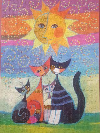 Puzzle de gatos 1000 piezas