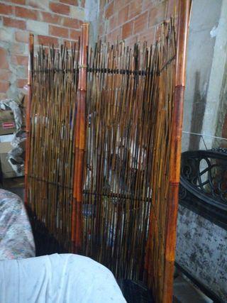 paraban biombo de bambu