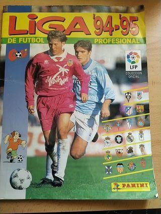 Album liga 94 95 Panini
