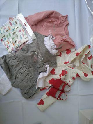 Lote 41 ropa bebé
