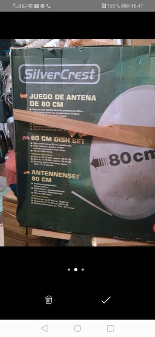kit de antena parabólica nueva