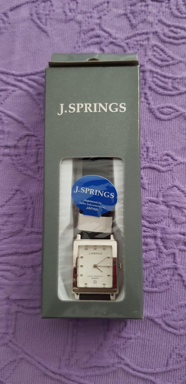 Reloj J. SPRINGS acero pulsera piel mujer/hombre