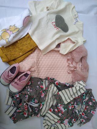 Lote 44 ropa bebé