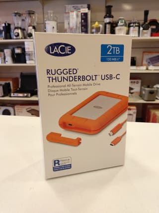 DISCO DURO LACIE RUGGED THUNDERBOLT USB-C 2TB
