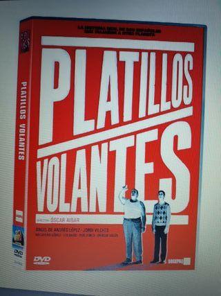 dvd.Platillos Volantes nueva