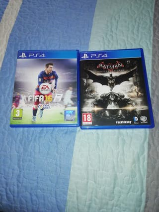 Fifa 16 + Batman Arkham Knight