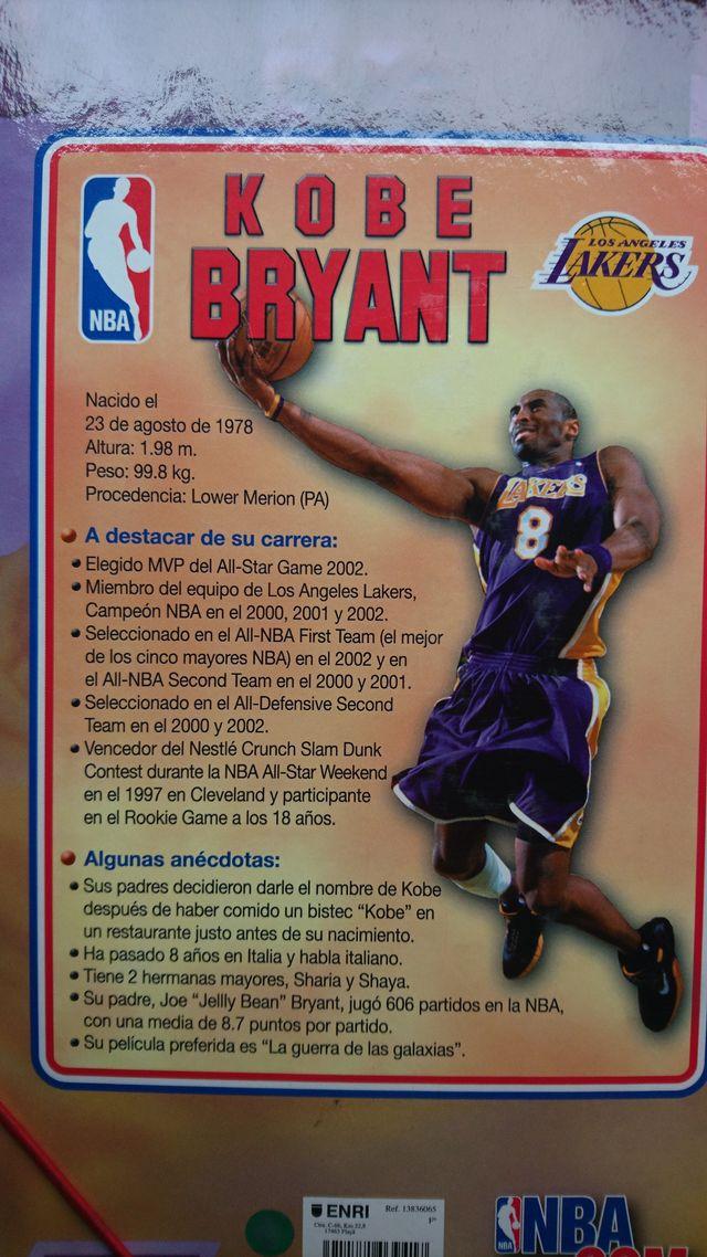 carpeta Kobe Bryant Lakers retro vintage nba mamba