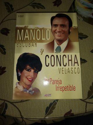 Colección DVD Manolo Escobar y Concha Velasco