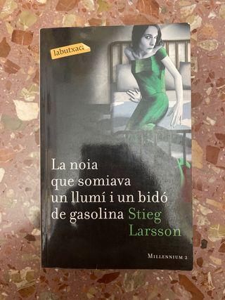 Libro la chica que soñaba con... catalán