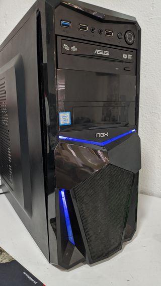 pc ordenador sobremesa
