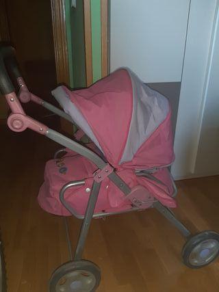"""carrito para bebé de juguete """"Baby Born"""""""