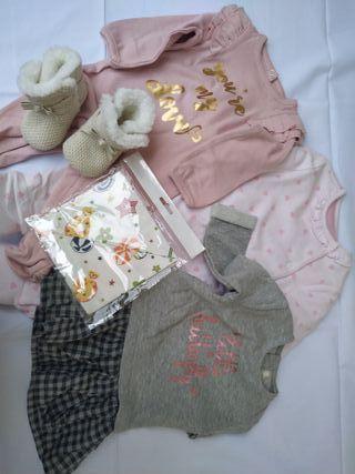 Lote 46 ropa bebé