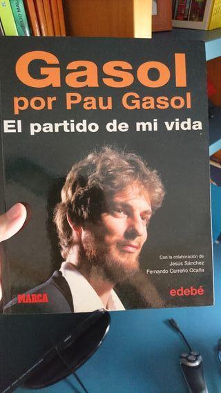 Pau Gasol el partido de mi vida, libro nba basket