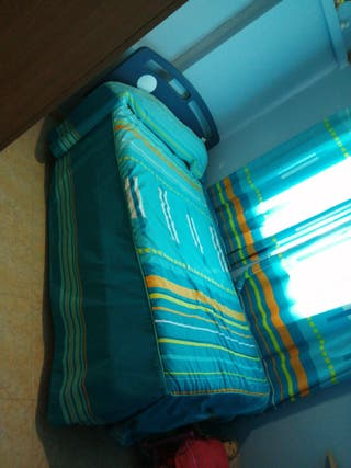 Cama ortopédica+colchón.