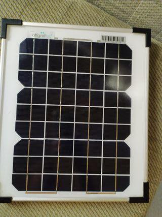 panel solar 10W policristalino offgridtec