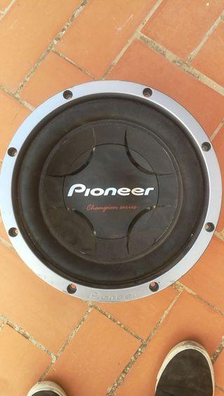 subwofer pioner 12