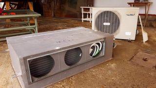 Aire acondicionado/calefacción termostato