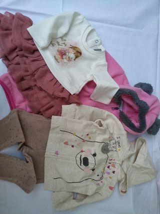 Lote 43 ropa bebé