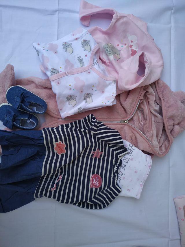 Lote 45 ropa bebé