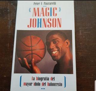 Magic Johnson. Biografía. Libro. Baloncesto. NBA
