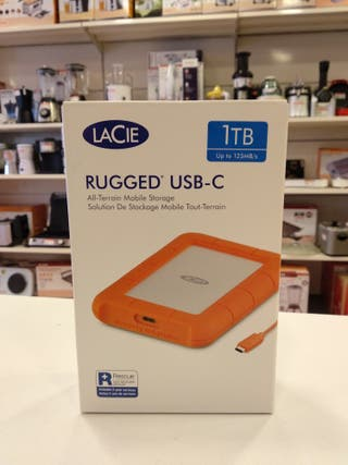 DISCO DURO LACIE RUGGED USB-C 1TB