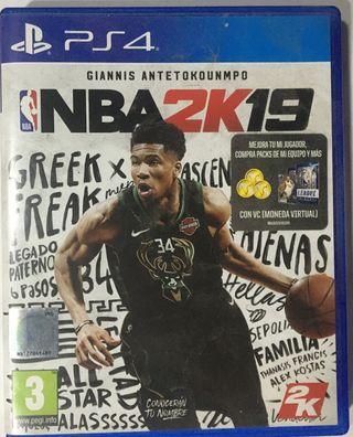 NBA2K19 PS4