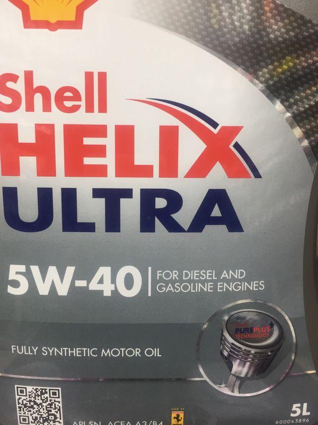 Shell helix ultra 5W _40