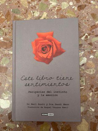 Libro- este libro tiene sentimientos
