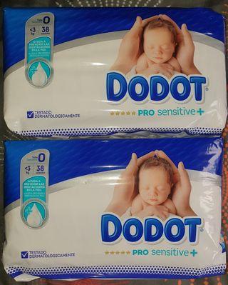Pañales bebé recien nacido Dodot