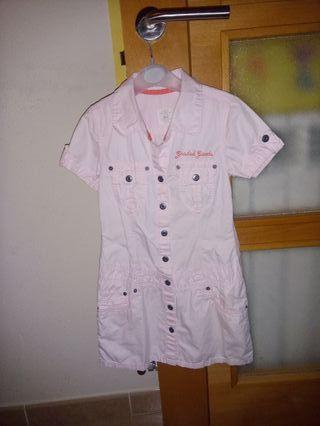 vestido rosa talla 5