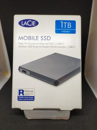 DISCO DURO EXTERNO LACIE 1TB SSD (204967)