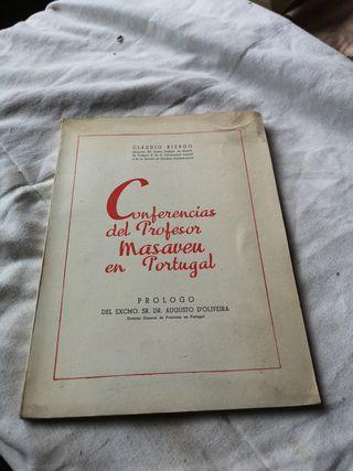Libro Conferencias del Profesor Masaveu 1947