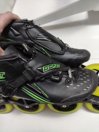 botas patines velocidad bont